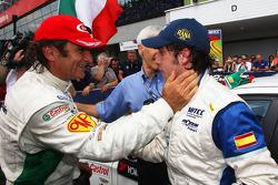 Felix Porteiro, Scuderia Proteam Motorsport félicite Alex Zanardi, BMW Team Italy-Spain