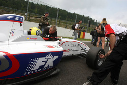 Andy Soucek on the grid