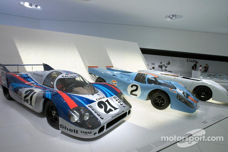 1971 Porsche 917 LH Coupé and 1970 Porsche 917 KN Coupe_