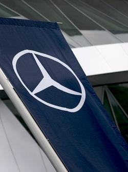 Mercedes-Benz Museum flag
