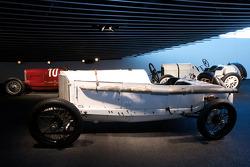 Silver arrows: 1914 Mercedes Grand Prix racing car