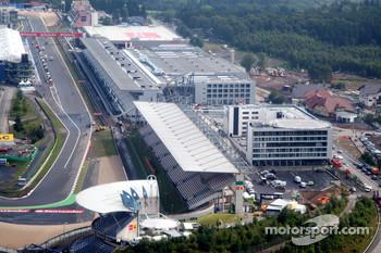 Vettel hopes Nurburgring will stay on F1 calendar
