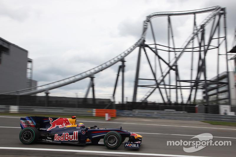 2009 - Nürburgring: Mark Webber, Red Bull-Renault RB5