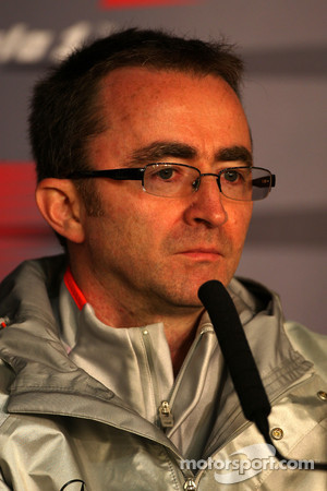 Paddy Lowe, McLaren Engineering Director