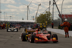 Graham Rahal, Newman/Haas/Lanigan Racing heads to pace laps