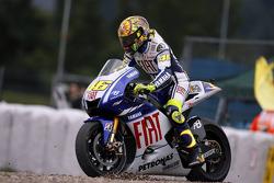 Valentino Rossi, Fiat Yamaha Team in the gravel