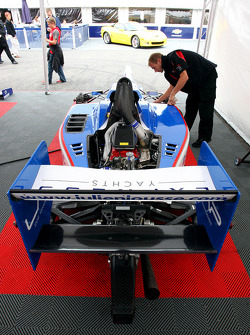 The car of Julien Jousse in the paddock