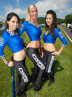 The charming Mazda Cooper Tires girls