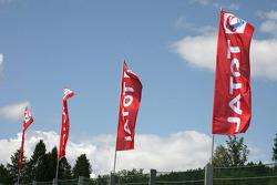 Flags at Spa