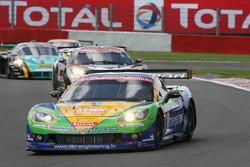 #8 Sangari Team Brazil Corvette Z06: Enrique Bernoldi, Roberto Streit, Xavier Maassen