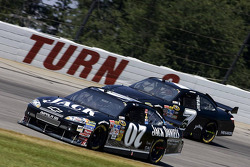 Casey Mears, Richard Childress Racing Chevrolet, Robby Gordon, Robby Gordon Motorsports Toyota