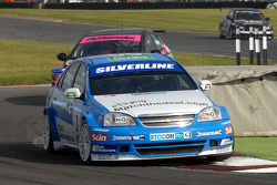 Jason Plato leads Dave Pinkney and John George