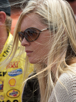The lovely girlfriend of Martin Truex Jr., Earnhardt Ganassi Racing Chevrolet