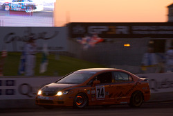 #74 Compass360 Racing Honda Civic SI: Christian Miller, Benoit Theetge