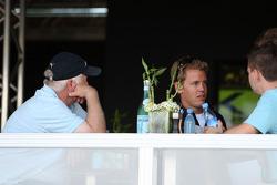 Norbert Vettel with his son Sebastian Vettel, Red Bull Racing