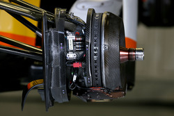 Renault F1 Team système de freinage