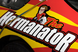 Detail of Kenny Wallace's car