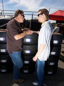 Mike Wallace and Brad Keselowski