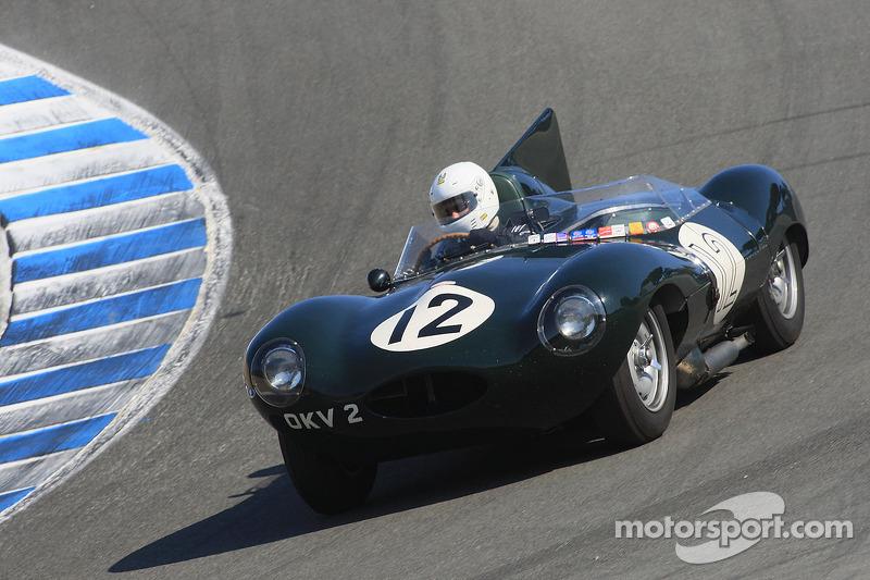 Террі Ларсон, 1954 Jaguar D-Type