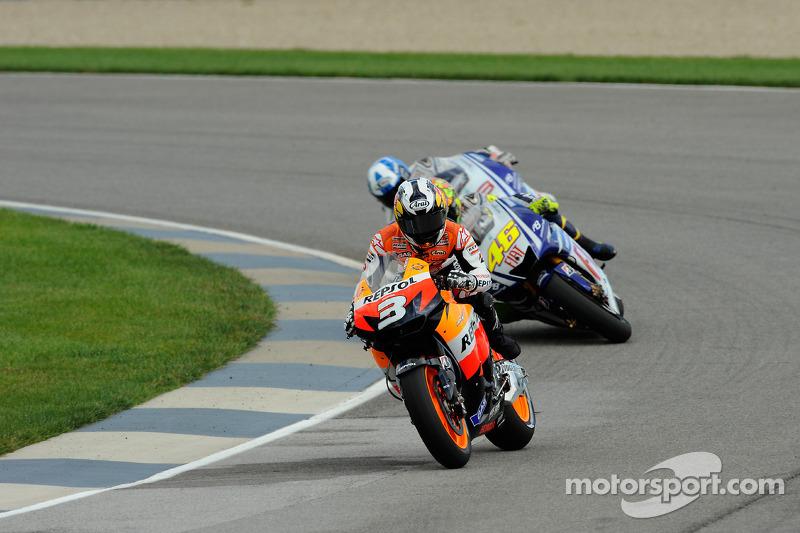 Dani Pedrosa, Repsol Honda Team, Valentino Rossi, Fiat Yamaha Team