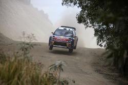 Daniel Sordo and Marc Marti, Citroen Total World Rally Team Citroen C4