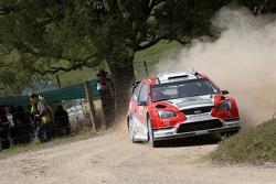 Federico Villagra and Jorge Perez Companc, Munchi's Ford World Rally Team Ford Focus RS WRC08