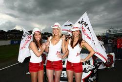 Jim Beam Racing Grid Girls