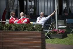 Maurizio Arrivabene, Ferrari-teambaas met Gino Rosato, Ferrari