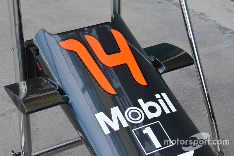 McLaren, dettaglio