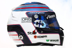 Il casco di Valtteri Bottas, Williams