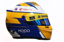 Il casco di  Marcus Ericsson, Sauber F1 Team