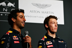 Даниэль Риккардо и Даниил Квят, Red Bull Racing