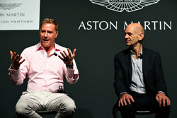 Marek Reichman, Kreativ und Designdirektor Aston Martin; Adrian Newey, Chief Technical Officer Red Bull Racing