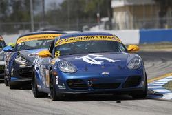 #8 Rebel Rock Racing Porsche Cayman: Робін Лідделл, Елліот Скір