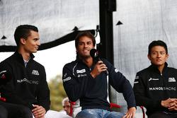 Pascal Wehrlein, Manor Racing; Felipe Nasr, Sauber F1 Team; Rio Haryanto, Manor Racing