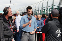 Steve Jones, Channel 4 F1 Presenter