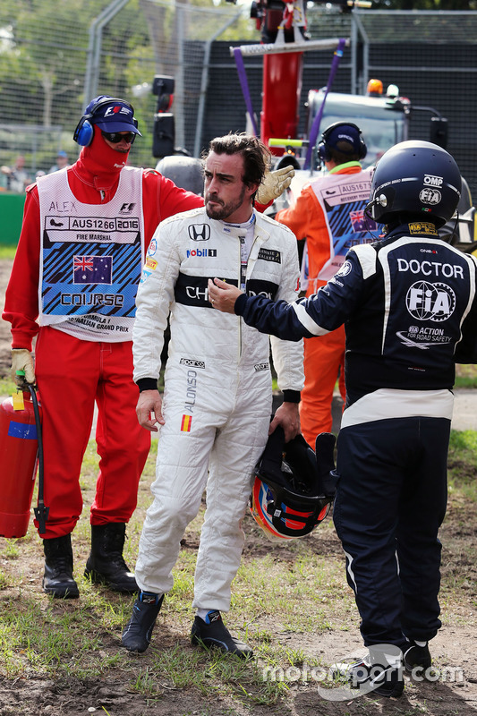 Fernando Alonso, McLaren después de su accidente