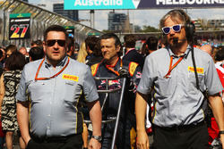 Paul Hembery, Pirelli Motorsport Director de la parrilla