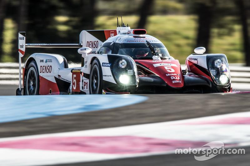 #5 Toyota Racing Toyota TS050 Hybrid: Kamui Kobayashi, Stéphane Sarrazin, Mike Conway