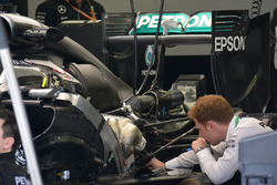 Задняя деталь Mercedes AMG F1 Team W07