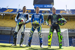 Yonny Hernandez, Aspar Racing Team, Aleix Espargaro, Team Suzuki MotoGP, Pol Espargaro, Monster Yamaha Tech 3