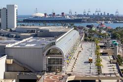 Le Long Beach Convention Center et le Queen Mary