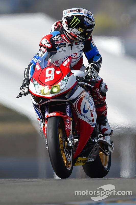 #9 Jackson Racing: John McGuinness
