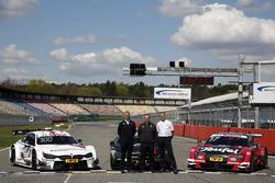 Jens Maquardt, BMW Motorsport Director, Ullrich Fritz, director del equipo Mercdes AMG; Dieter Gass, Jefe de Audi Sport DTM
