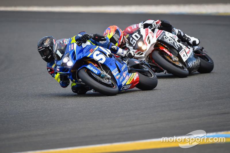 #1 Suzuki: Vincent Philippe, Anthony Delhalle, Etienne Masson; #50 Suzuki: Gregg Black, Grégory Fastré, Alex Cudlin