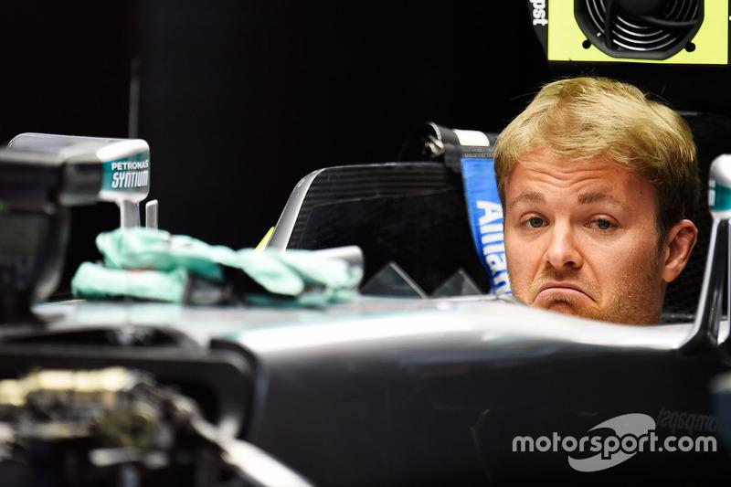 15. Nico Rosberg, Mercedes AMG F1 Team W07
