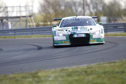 #28 Montaplast by Land-Motorsport, Audi R8 LMS: Peter Hoevenaars, Marc Basseng