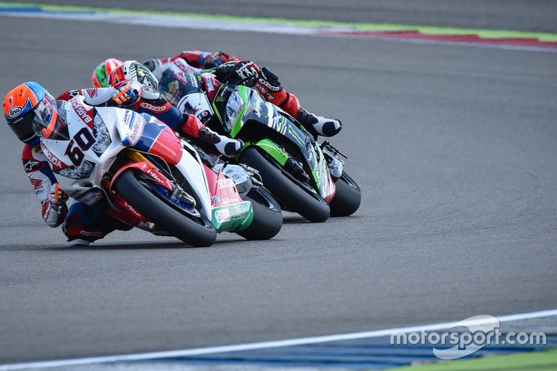 Michael van der Mark, Honda WSBK Team und Jonathan Rea, Kawasaki Racing Team