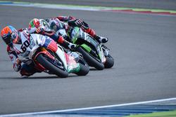 Michael van der Mark, Honda WSBK Team et Jonathan Rea, Kawasaki Racing Team