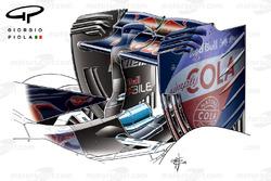 Toro Rosso STR11 rear wing, Chinese Grand-Prix
